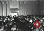 Image of premier of a Russian movie Russia, 1948, second 8 stock footage video 65675032364