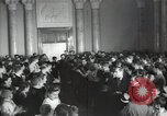 Image of premier of a Russian movie Russia, 1948, second 10 stock footage video 65675032364