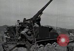 Image of US 24th Infantry soldiers firing from tank United States USA, 1947, second 9 stock footage video 65675032380