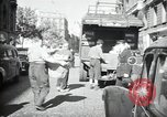 Image of Sanitation trucks and workers Paris France, 1953, second 5 stock footage video 65675032388