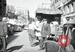 Image of Sanitation trucks and workers Paris France, 1953, second 6 stock footage video 65675032388
