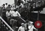 Image of Ship arriving in port East Asia, 1955, second 8 stock footage video 65675032393