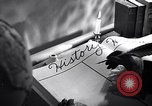 Image of large volume titled history on desk United States USA, 1951, second 3 stock footage video 65675032397