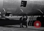 Image of still photo camera beneath B-26 United States USA, 1951, second 3 stock footage video 65675032400