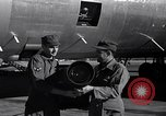 Image of still photo camera beneath B-26 United States USA, 1951, second 10 stock footage video 65675032400