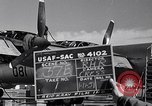 Image of maintenance of Convair B-36 Fort Worth Texas USA, 1951, second 2 stock footage video 65675032401