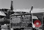Image of maintenance of Convair B-36 Fort Worth Texas USA, 1951, second 3 stock footage video 65675032401