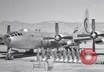 Image of B-50 Superfortress and crew Tucson Arizona USA, 1951, second 1 stock footage video 65675032409