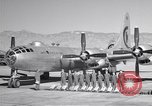 Image of B-50 Superfortress and crew Tucson Arizona USA, 1951, second 3 stock footage video 65675032409