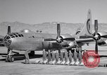 Image of B-50 Superfortress and crew Tucson Arizona USA, 1951, second 5 stock footage video 65675032409