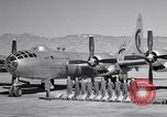 Image of B-50 Superfortress and crew Tucson Arizona USA, 1951, second 6 stock footage video 65675032409