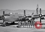 Image of B-50 Superfortress and crew Tucson Arizona USA, 1951, second 9 stock footage video 65675032409
