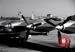 Image of Convair B-36 taxiing Fort Worth Texas USA, 1950, second 5 stock footage video 65675032411
