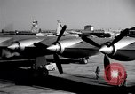 Image of Convair B-36 taxiing Fort Worth Texas USA, 1950, second 7 stock footage video 65675032411