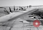 Image of Convair B-36 and airmen Fort Worth Texas USA, 1951, second 5 stock footage video 65675032412