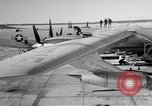 Image of Convair B-36 and airmen Fort Worth Texas USA, 1951, second 6 stock footage video 65675032412