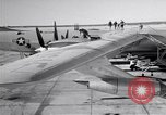 Image of Convair B-36 and airmen Fort Worth Texas USA, 1951, second 9 stock footage video 65675032412