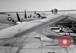 Image of Convair B-36 and airmen Fort Worth Texas USA, 1951, second 12 stock footage video 65675032412