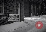 Image of Policeman checking building security United States USA, 1951, second 4 stock footage video 65675032416