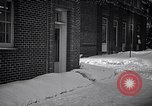 Image of Policeman checking building security United States USA, 1951, second 8 stock footage video 65675032416