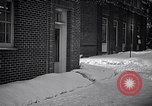 Image of Policeman checking building security United States USA, 1951, second 10 stock footage video 65675032416