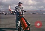 Image of Fire guard for aircraft engine start Honolulu Hawaii USA, 1959, second 8 stock footage video 65675032481