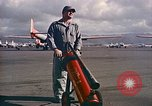 Image of Fire guard for aircraft engine start Honolulu Hawaii USA, 1959, second 10 stock footage video 65675032481