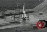 Image of slow motion A-4 Missile launch Peenemunde Rocket Centre Ostvorpommern Germany, 1942, second 1 stock footage video 65675032508