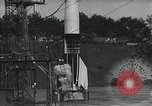 Image of A-4 Missile on launch pad Ostvorpommern Germany, 1942, second 7 stock footage video 65675032512