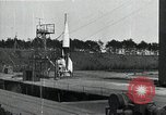 Image of A4 Missile (V-2 rocket) Peenemunde Germany, 1942, second 1 stock footage video 65675032513