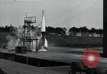 Image of A4 Missile (V-2 rocket) Peenemunde Germany, 1942, second 4 stock footage video 65675032513