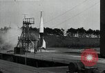 Image of A4 Missile (V-2 rocket) Peenemunde Germany, 1942, second 6 stock footage video 65675032513