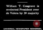 Image of William T Cosgrave Ireland, 1930, second 1 stock footage video 65675032517