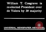 Image of William T Cosgrave Ireland, 1930, second 8 stock footage video 65675032517