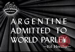 Image of Argentina invited to join United Nations San Francisco California USA, 1945, second 1 stock footage video 65675032526