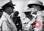 Image of General Douglas Mac Arthur visits liberated Mindoro Island Mindoro Philippines, 1945, second 11 stock footage video 65675032529