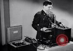 Image of communication system United States USA, 1943, second 4 stock footage video 65675032558