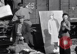 Image of displaced Russians Grimma Germany, 1945, second 9 stock footage video 65675032575