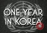 Image of UN General Assembly  Korea, 1950, second 4 stock footage video 65675032621