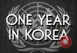 Image of UN General Assembly  Korea, 1950, second 6 stock footage video 65675032621