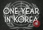 Image of UN General Assembly  Korea, 1950, second 8 stock footage video 65675032621