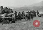 Image of U.S. tanks and 3rd infantry in Korean War Korea, 1951, second 11 stock footage video 65675032631