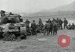 Image of U.S. tanks and 3rd infantry in Korean War Korea, 1951, second 12 stock footage video 65675032631