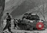 Image of American M24 Chaffee tanks Korea, 1951, second 10 stock footage video 65675032632