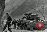 Image of American M24 Chaffee tanks Korea, 1951, second 11 stock footage video 65675032632