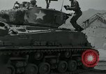 Image of Sherman tank Korea, 1951, second 8 stock footage video 65675032642