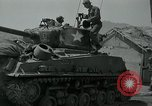 Image of Sherman tank Korea, 1951, second 10 stock footage video 65675032642