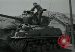 Image of Sherman tank Korea, 1951, second 11 stock footage video 65675032642