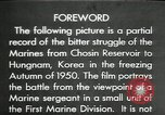 Image of The Hungnam Story Chosin reservoir Korea, 1950, second 1 stock footage video 65675032648