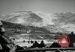 Image of bomb raids Chosin reservoir Korea, 1950, second 9 stock footage video 65675032650